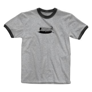 e-moくん Ringer T-shirts