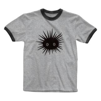 ウニの Ringer T-shirts