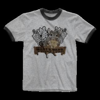 (●´ω`●pポトフ ☕️ &ペンネ 🍓 qのSUPER STAR Ringer T-shirts