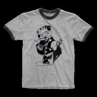 はるかんぼショップのあめ Ringer T-shirts