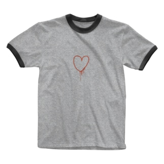 my heart Ringer T-shirts
