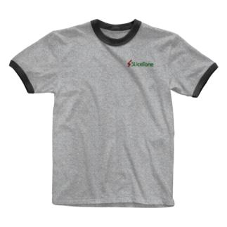 Slicetone公式グッズ Ringer T-shirts