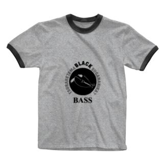 ブラックバス~釣られてますが何か?~ Ringer T-shirts