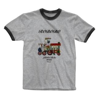 ROBOBO ジュリロボ Ringer T-shirts