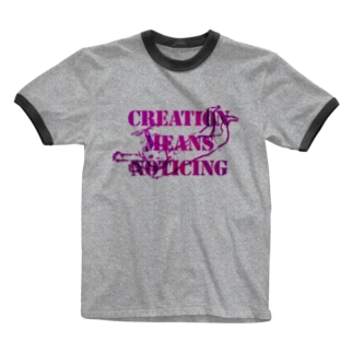 Angel message ~ Creative means... Ringer T-shirts