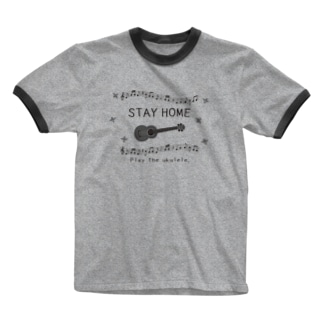 STAY HOME Ringer T-shirts