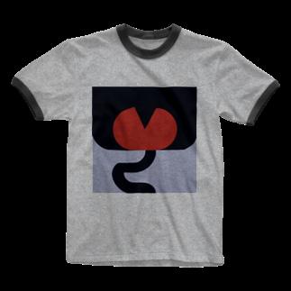 Moe Noguchiのおしり monkey Ringer T-shirts