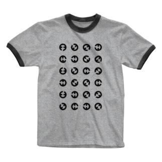 臼臼T Ringer T-Shirt