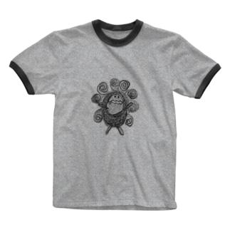 ぐるぐるSUN Ringer T-shirts