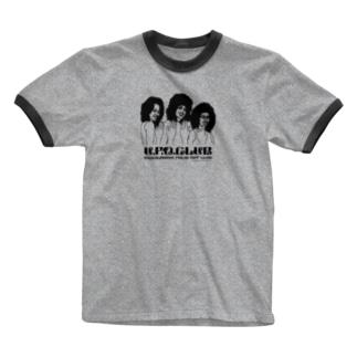 東高円寺U.F.O.CLUB webshopの坂本慎太郎 x U.F.O.CLUBオリジナルリンガーTシャツ Ringer T-shirts