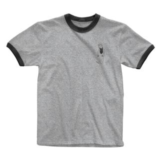 swim girl Ringer T-shirts