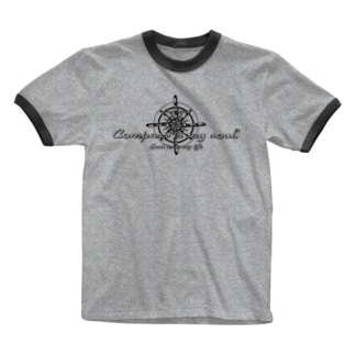 Compass is my soul Ringer T-shirts