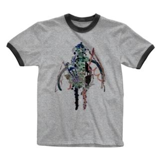みすえる Ringer T-shirts