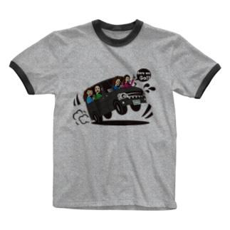 テンネンパーマファミリーVAN Ringer T-shirts