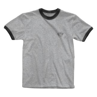 hatsutorin ワンポイントロゴ Ringer T-shirts