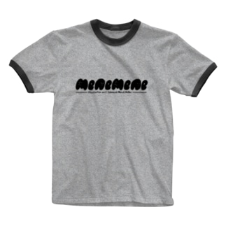 menemene logo Ringer T-shirts