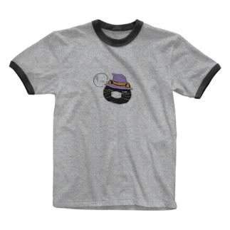 黒江マツコのつぶやきTシャツ Ringer T-shirts