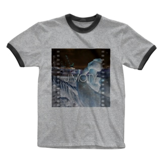【JIMOTY 】 Ringer T-shirts