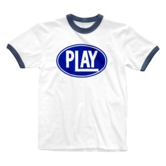ELLIPSE LOGO B ① Ringer T-shirts