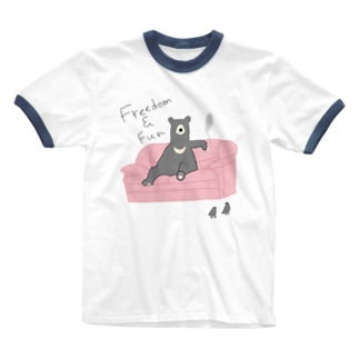 ロンリーベアー Ringer T-shirts