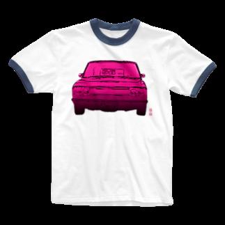 猫山アイス洋品店の中古車 Ringer T-shirts
