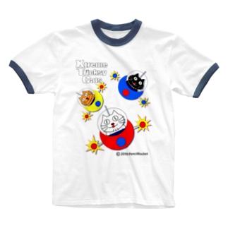 ネコ兄弟 tXTC_27 Ringer T-shirts