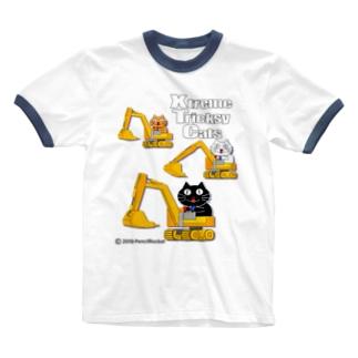 ネコ兄弟 tXTC_29 Ringer T-shirts