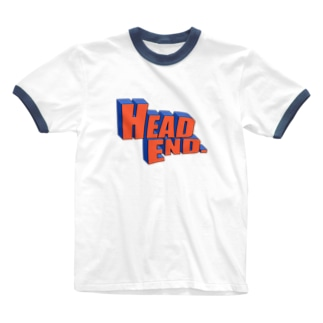 HEAD ENDのHEADEND(アメコミ) Ringer T-shirts