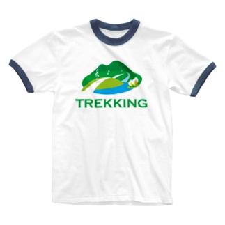 トレッキング  Ringer T-shirts