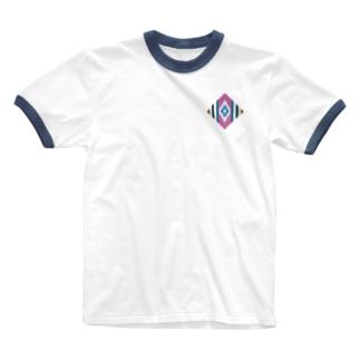 チマヨpink Ringer T-shirts