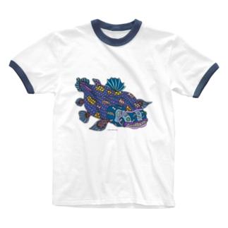 シーラカンス Ringer T-shirts