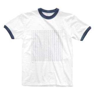 原稿用紙 Ringer T-shirts