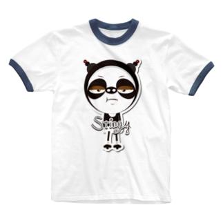 クレイジーチャンクスオリジナルグッズ Ringer T-shirts