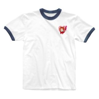 海鞘愛 Ringer T-shirts