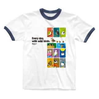 ことりの歳時記。 Ringer T-shirts