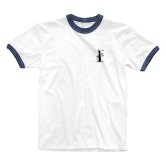 いっきちゃん速報1周年記念グッズ Ringer T-shirts