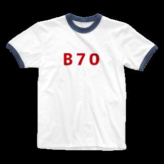 歯車のBの称号 Ringer T-shirts