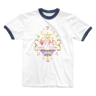 鳴凛響歌 ~ シャラーミュ・チェペ ~ Ringer T-shirts