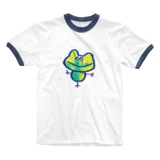 金吉くん Ringer T-shirts