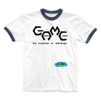 THE GUARDIAN OF AKIHABARA Ringer T-shirts