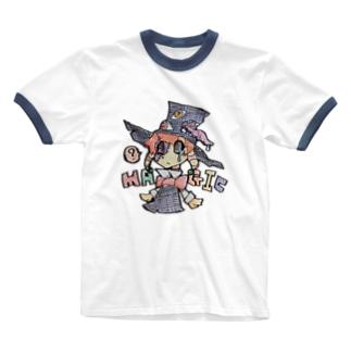 まじっくくん! Ringer T-shirts
