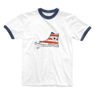 スニーカーズ Ringer T-shirts