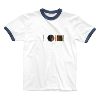「AWAI KO I」SUZURI限定アイテム / 003 (文字柄アリ) Ringer T-shirts