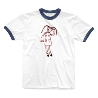 えっ、なんですって? Ringer T-shirts