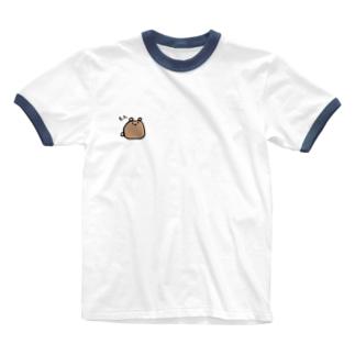 もふくま Ringer T-shirts