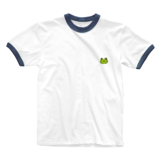 かえるのなおたろう Ringer T-shirts
