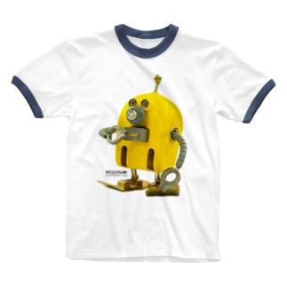 BIG ニド Ringer T-shirts