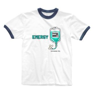 新 エナジー点滴 Ringer T-shirts