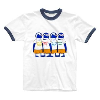 ファニービーゴー&フレンズ Ringer T-shirts