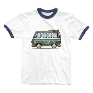 Rolling69(rusty) Ringer T-shirts